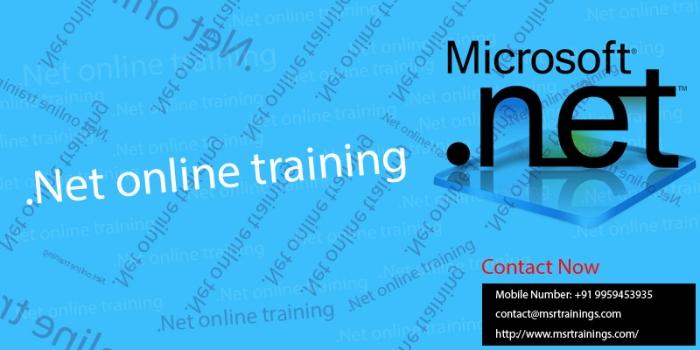 .Net-online-training