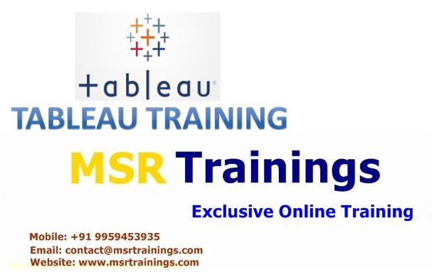 Tableau Online Training in Hyderabad,India, USA, UK, Australia, New Zealand, UAE, Saudi Arabia,Pakistan, Singapore, Kuwait.